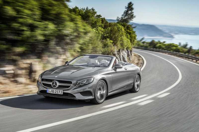 2016 Mercedes-Benz S-class Cabrio