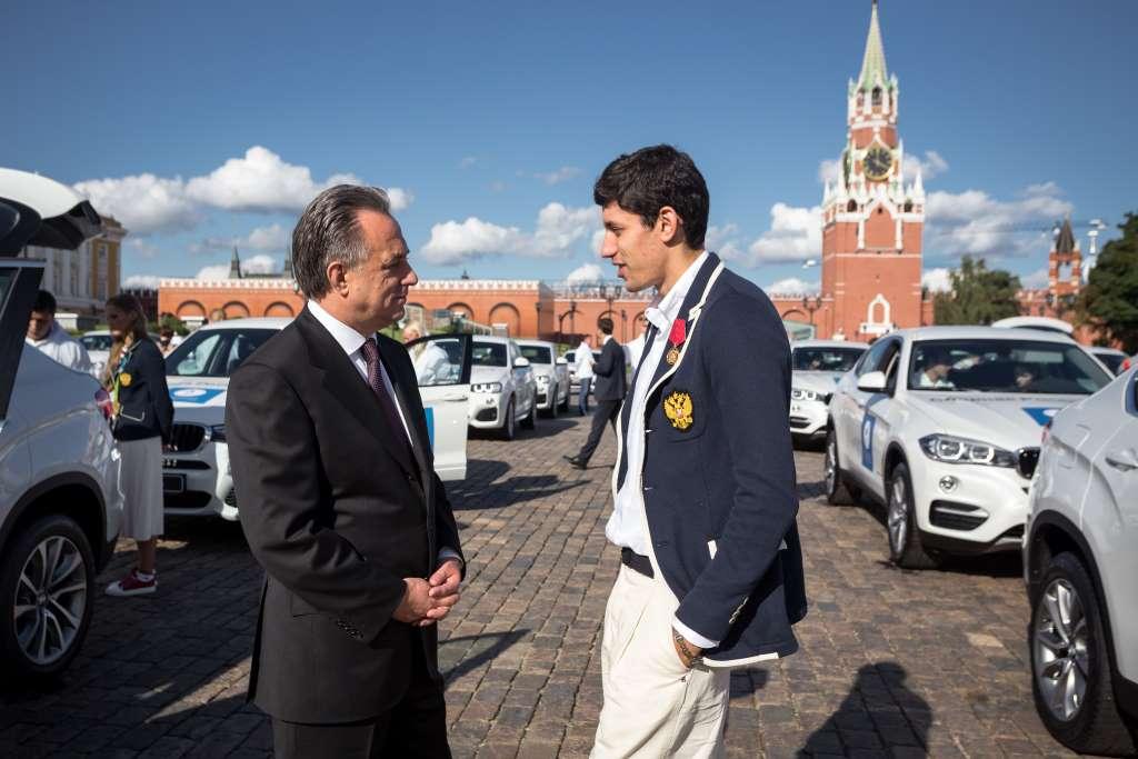 BMW для призеров Олимпиады в Рио-да-Жанейро