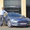 Президент Aston Martin продает свой Rapide, чтобы помочь японцам