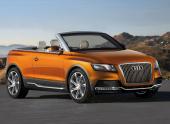 Audi Q5 CrossCabriolet. Шляпу сними