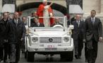Mercedes-Benz готовит новый автомобиль для Папы Римского