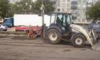 В центре Москвы жители домов не спят по ночам из-за ремонта дороги