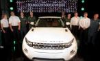 В Великобритании стартовало производство Range Rover Evoque