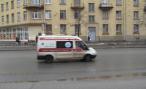 В центре Москвы перевернулась «скорая», столкнувшись с внедорожником