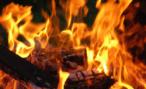 В Москве горел автосервис