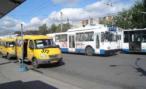 В Нижнем Новгороде «маршрутка» столкнулась с троллейбусом