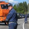 Инспектора ГИБДД в Москве ранило отлетевшим у грузовика колесом