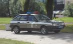 В Петербурге пьяный водитель без прав «стукнул» полицейскую машину