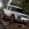 Land Rover представляет концепт-кар Defender на автосалоне во Франкфурте