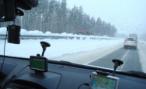 Дорога из Хаксии в Туву закрыта из-за метели