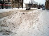 В России придумали, как эффективно убирать снег с дороги