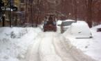 В Москве на уборку снега брошено девять тысяч единиц техники, в Петербурге – одна