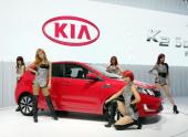 Хетчбэк Kia Rio впервые показан на автосалоне в китайском Гуанчжоу