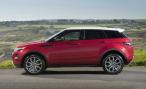 Range Rover Evoque. Первые потери