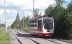 Пробка в центре Краснодара; «Лексус» столкнулся с трамваем