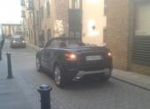 Шок! Кабриолет Range Rover Evoque заметили на дороге