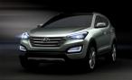 Hyundai представляет тизер Santa Fe нового поколения