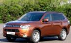 Mitsubishi начинает продажи в России кроссовера Outlander с 3-литровым V6