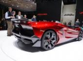 Премьера родстера Lamborghini Aventador Roadster состоится 12 ноября