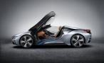 BMW представляет двухместный спортивный родстер i8 Concept Spyder