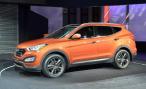 Hyundai представила на ММАС-2012 кроссовер Santa Fe