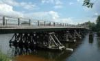 Житель Вологодской области похитил мост, чтобы сдать на металлолом