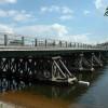 В районе трассы Петербург-Киев обрушился автомобильный мост