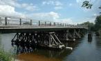 В Приморье рухнул мост из-за шалости водителя лесовоза