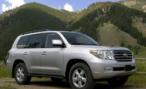 В Кемерово у сотрудницы банка угнали Toyota Land Cruiser