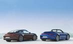 Porsche публикует первые фото Carrera 4 и Carrera 4S перед премьерой в Париже