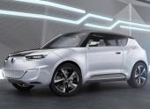 SsangYong опубликовал качественные фото e-XIV Concept Crossover