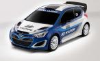 Hyundai представляет в Париже раллийный i20 WRC