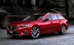 Появились первые фотографии универсала Mazda6