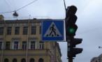 В Петербурге хулиганы избили светофор