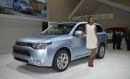 В России появится еще один электромобиль Mitsubishi – Outlander PHEV