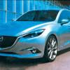 В Сети появились первые изображения Mazda3 нового поколения