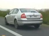 Skoda Octavia нового поколения засняли на видео