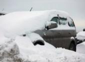 Петербург засыпало снегом в знак солидарности с Москвой и Нью-Йорком