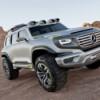 Mercedes-Benz Ener-G-Force Concept. Полицейская элита