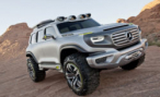 Mercedes-Benz Ener-G-Force Concept. Полицейская элита