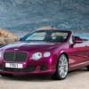 Bentley представила кабриолет Continental GT Speed Convertible
