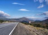 В Грузии закончена реконструкция участка дороги, ведущей к границе с Россией
