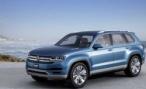 Volkswagen представляет в Детройте шестиместный концепт-кроссовер CrossBlue