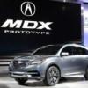 Acura представила прототип кроссовера MDX в Детройте