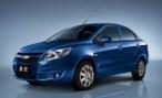 Chevrolet представил бюджетный седан Sail