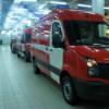 Пожарная машина, торопясь на пожар, «собрала» восемь «легковушек» в Саратове