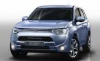 Mitsubishi привезет на ММАС-2014 гибридный Outlander и рестайлинговый Pajero