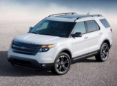 Ford Explorer в версии Sport. От 2 158 000 рублей