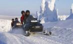 Восемь российских туристов разбились на снегоходе в итальянских Альпах