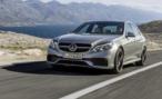 Mercedes-Benz представляет седан и универсал Е63 AMG